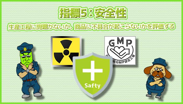 指標5:安全性